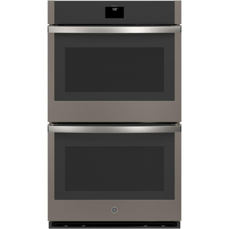 """30"""" Smart Built-In Self-Clean Convection Double Wall Oven with Never Scrub Racks"""