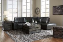 Cliffoney - Gray 5 Piece Sectional