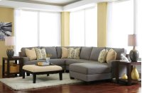 Chamberly 4 Pc LAF Sectional w/RAF Chaise Product Image