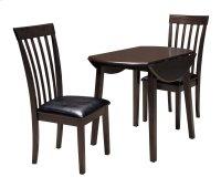 Hammis - Dark Brown 3 Piece Dining Room Set Product Image