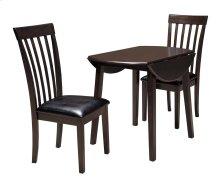 Hammis - Dark Brown 3 Piece Dining Room Set