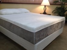 "Full 12"" Gel Memory Foam Mattress"