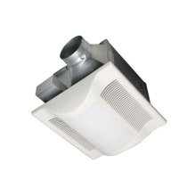 WhisperLite 80 CFM Ceiling Mounted Fan/Light Combination