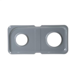 GERange Double Drip Pan - Right Side; Gray