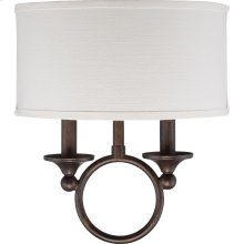 Adams Wall Sconce in Leathered Bronze