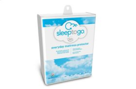 Sleep to Go By Serta Everyday Mattress Protector - Twin