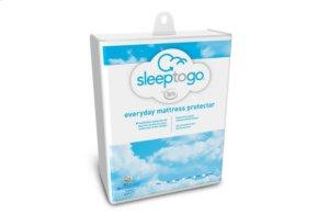 Sleep to Go By Serta Everyday Mattress Protector - Twin
