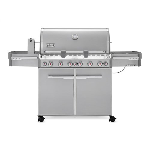 SUMMIT® S-670™ NATURAL GAS GRILL - STAINLESS STEEL