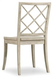 Dining Room Sunset Point X Back Side Chair