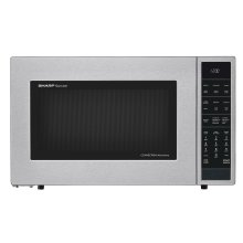 1.5 cu. ft. 900W Sharp Stainless Steel Carousel Convection + Microwave