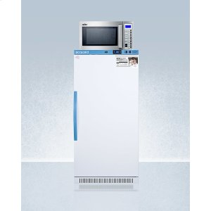 SummitMomcube Refrigerator/microwave Combination for Easy Storage of Breast Milk and Sanitation of Pumping Equipment