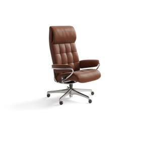 Stressless By EkornesStressless London High Back Star Base Office