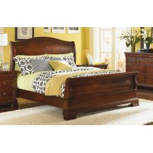 Evolution Sleigh Bed King