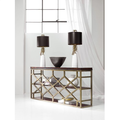 Living Room Melange Giles Console Table