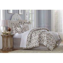 10pc King Comforter Set Natural