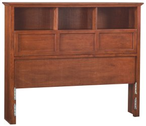GAC McKenzie Queen Bookcase Headboard
