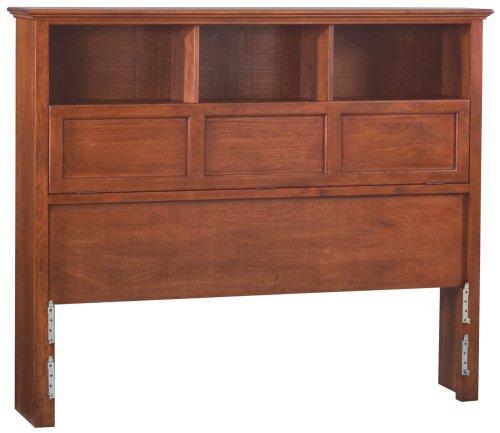 GAC McKenzie Queen Bookcase Headboard