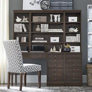 Bassett FurniturePeppermill Commonwealth Leg Desk Set