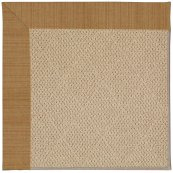 Creative Concepts-Cane Wicker Dupione Caramel Machine Tufted Rugs