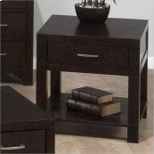 End Table W/ Drawer and Shelf (kd)