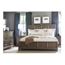High Line by Rachael Ray Panel Bed, CA King 6/0