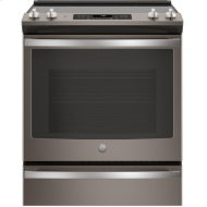 """GE(R) 30"""" Slide-In Electric Convection Range"""