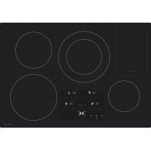 "30"" Width Induction Cooktop, European Black Mirror Finish Made With Premium Schott ®Glass"
