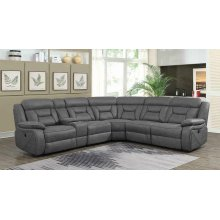 Camargue Casual Grey Motion Sectional