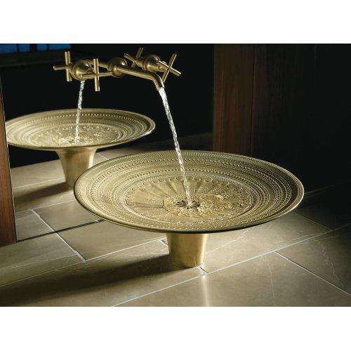 Tumbled Bronze Vessel Cast Bronze Bathroom Sink