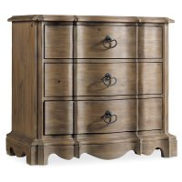 Bedroom Corsica Three Drawer Nightstand Product Image