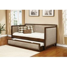 Traditional Oatmeal and Rich Amber Daybed