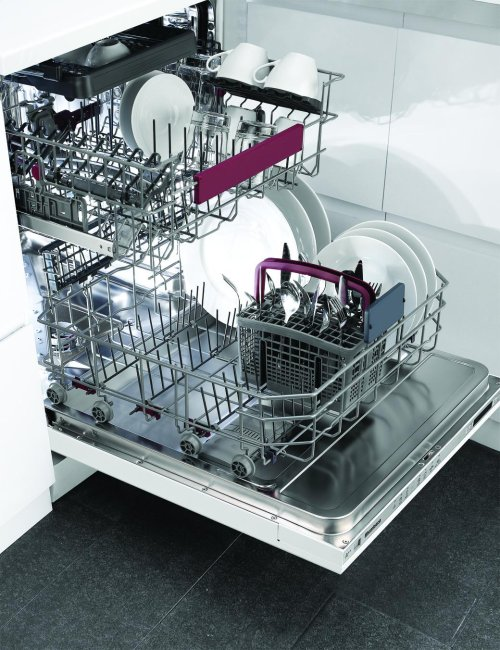Tall Tub dishwasher 8 cycles top control 3rd rack full integrated panel overlay 45dBA