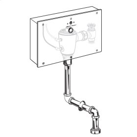 Selectronic Concealed Flush Valve with Wall Box for Top Spud Urinal  American Standard - No Finish