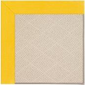 Creative Concepts-White Wicker Canvas Sunflower Ye Machine Tufted Rugs