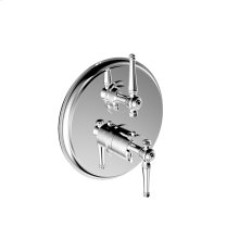 "7095kl-tm - 1/2"" Thermostatic Trim With Volume Control in Polished Chrome"