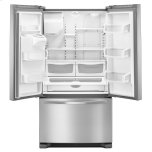 Whirlpool 36-Inch Wide French Door Refrigerator - 25 Cu. Ft.