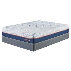 Ashley FurnitureASHLEY SIERRA SLEEP12 Inch MyGel - White 2 Piece Mattress Set