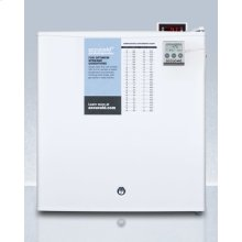 Compact All-refrigerator With Automatic Defrost, Digital Thermostat, Internal Fan, Nist Calibrated Thermometer, and Lock; Replaces Ffar24lplus