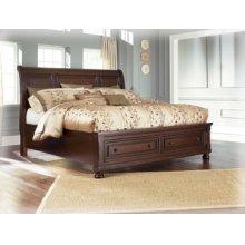 Ashley Queen Sleigh Bed w/ Storage