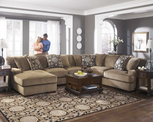 Ashley 4-Piece Sectional with RAF Chaise