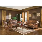 Victoria Traditional Tri-tone Loveseat Product Image