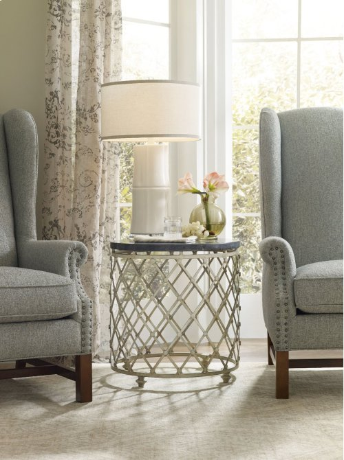 Living Room Auberose Drum Table