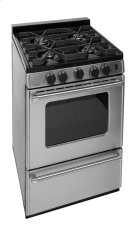 24 in. ProSeries Freestanding Battery Spark Sealed Burner Gas Range in Stainless Steel Product Image