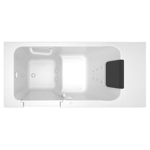 Luxury Series 28x48-inch Whirlpool Walk-in Tub  Left Drain  American Standard - White