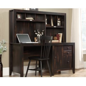 SauderComputer Desk With Hutch