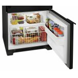 Amana 29-inch Wide Bottom-Freezer Refrigerator with Garden Fresh Crisper Bins -- 18 cu. ft. Capacity - Black
