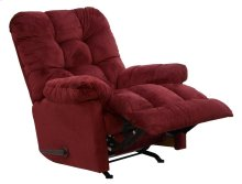 Merlot 4737-2 Nettles Chaise Rocker Recliner with Deluxe Heat & Massage