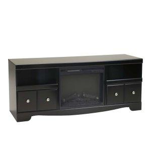 Ashley Furniture Shay - Black 2 Piece Entertainment Set