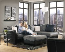 FLOOR MODEL Sectional and Ottoman!!!