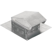 Roof Cap in Aluminum; Ventilation Fans